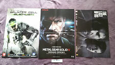 POSTERS TOM CLANCY'S SPLINTER CELL BLACKLIST+METAL GEAR SOLID V+THE LAST OF US