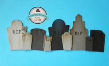 Halloween Scooby Doo gravestones cake topper sugar decoration edible set