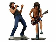 """AC/DC Angus Young & Brian Johnson 7"""" Inch Action Figures Toys New In Box Rare"""