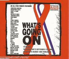 ARTISTS AGAINST AIDS - What's Going On (UK 3 Trk CD Single)