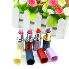 Cute Secret Lipstick Shaped Stash Medicine Pill Pills Box Holder Organizer Case