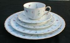 BERNARDAUD LIMOGES FRANCE POMPADOUR FIVE PIECE PLACE SETTING