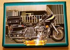 HARLEY-DAVIDSON FLH74 LIBERATOR 1970'S BIKE PICTURE PRINT 1978 VINTAGE CLASSIC