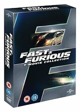 FAST AND FURIOUS 1-7 COMPLETE DVD SEASON 1 2 3 4 5 6 7 FAST & FURIOUS ENGLISCH