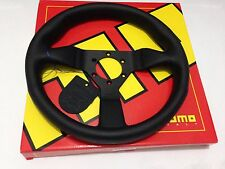 MOMO Monte Carlo Steering Wheel 320mm Black Leather MCL32BK1B