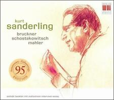 Kurt Sanderling conducts Bruckner, Shostakovich & Mahler, New Music