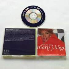 MARY J BLIGE Give Me You US DJ Promo CD from 2000 Nino Remix
