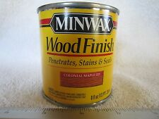 Minwax Wood Finish COLONIAL MAPLE 223 Oil-Based Wood Stain 22230 - 1/2 Pint  NEW