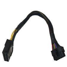 """AYA 12"""" ATX 24Pin Female to 12Pin Male Power Supply Adapter for Acer Q87H3-AM"""
