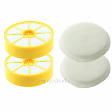 Washable Pre & Post Motor Filter Pads Kit (Non-HEPA) for Dyson DC14 (Pack of 2)
