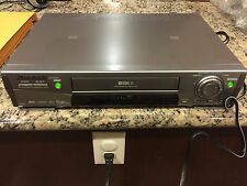 MITSUBISHI HS-HD2000U D-VHS DVHS S-VHS PLAYER/RECORDER VCR DIGITAL NEEDS REPAIR!