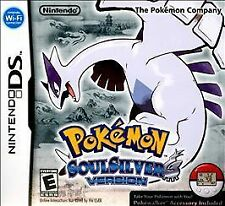 Pokemon: SoulSilver Version. Nintendo DS/DSi/3DS. Free Shipping. Rare. RPG