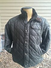 NWT Polo Ralph Lauren Green Quilted Barn- Hunting- Safari Jacket Men's Size L