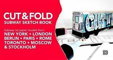 Cut and Fold Subway Sketchbook by Martin Ander (2013, Hardcover)