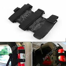 Black Car Auto Fixed Holder Extintor Para Jeep Wrangler TJ YJ JK CJ Auto