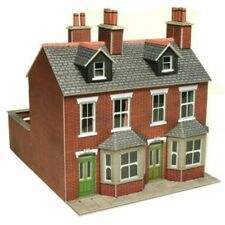 METCALFE CARD KIT OO PO261 TERRACED HOUSES RED BRICK METP0261