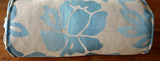 Laura Ashley Ellington Teal.   Bolster Complete Cushion . New!
