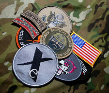 US EMBASSY BAGHDAD STATE DEPT WPS CONTRACTOR ELITE-PRO PMC TEAM 9-VELCRO-SSI SET
