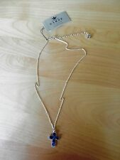 BARSE  Sterling Silver and Lapis & Kyanite Stone  Necklace MSRP $88