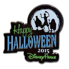 Disney Parks Happy Halloween 2015 Hitchhiking Ghost Pin