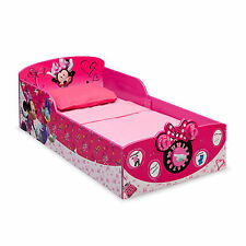 FACTORY NEW Delta Children Minnie Mouse Interactive Wood Toddler Bed