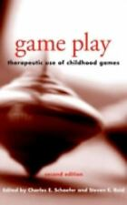 Game Play: Therapeutic Use of Childhood Games  Books-Good Condition