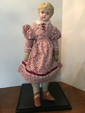 Antique Tin Head MINERVA Doll Made in Germany Circa-1920's