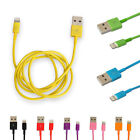 NEW 8Pin 2.0 USB 1M 2M 3M Data Sync Charger Cable Cord For iPhone 5/5s/5c 6 6S