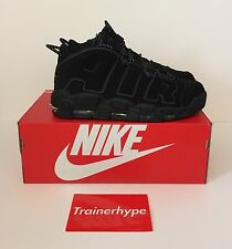 Nike Air More Uptempo Incognito UK12/US13 Triplo Nero