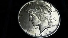 1922 PEACE SILVER DOLLAR IN  UNC C0NDITION L-31-16