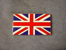 NEW TRIUMPH RED WHITE AND BLUE ENAMEL UNION JACK FLAG DECAL BADGE