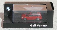 RIETZE Sammlermodell (H0, 1:87)  VW Golf Variant rot metallic NEUWARE