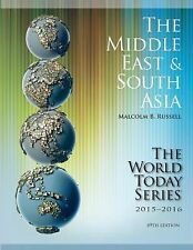 The Middle East and South Asia 2015-2016 (World Today (Stryker))  (ExLib)