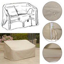 Waterproof High Back Patio Loveseat Bench Cover Outdoor Furniture Protection
