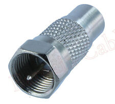 RCA Female to F-Type Coax Male Adapter Buy 2 Get 1 Free