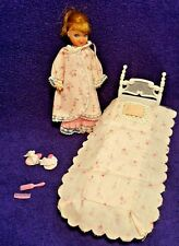 VTG Tutti Gift Set #3553 Night Night Sleep Tight Doll Bed Pillow Barbie Sister