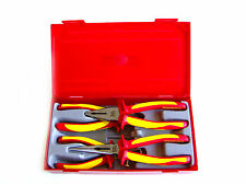 Teng Tools Set of 4 insulated pliers for work under voltage up to 1000 V TTV440