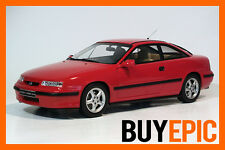 OttOmobile 1:18 OT172 Opel Calibra 4x4 Turbo, C20LET, Rojo magma, Coche a escala