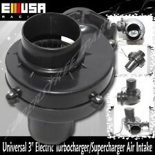 "Universal 3"" Electric Turbocharger Air intake for Car/Motorcycler/Truck/ATV/RV"