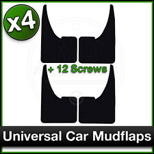 UNIVERSAL Car FORD FOCUS FIESTA MONDEO GALAXY Rubber MUDFLAPS Mud Flaps SET 4