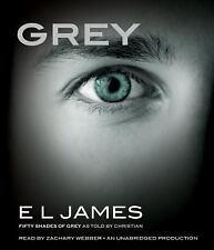 Grey : Fifty Shades of Grey As Told by Christian by E. L. James (2015, CD,...