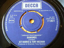 "JET HARRIS & TONY MEEHAN - DIAMONDS / SCARLETT O'HARA   7"" VINYL"
