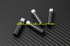 For Mercedes Benz Carbon Fiber 4 Long Door Lock Pin W203 W210 W211 C E Class AMG