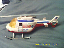 VINTAGE TONKA HASBRO RESCUE HELICOPTER SOUND LIGHT WINCH FREE DELIVERY