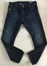 "Diesel Mens Krooley 0073N Jeans, Authentic Regular Slim-Carrot - 31""x30"", EUC"