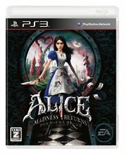 Used PS3 Alice Madness Returns Import Japan