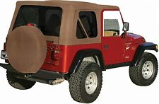 New Jeep Wrangler Soft Top 1997-2006 Spice (Almost Tan) fits Full Steel Doors Tj