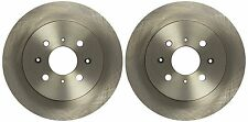 Mapco 15617 Solid Rear Axle Brake Disc, Set of 2 HONDA CIVIC  VI ,CIVIC VII