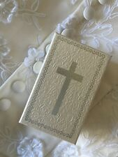 Cream Cross Jewellery Gift Box Communion Confirmation Christening Gift