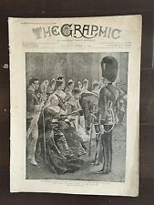 """""""THE GRAPHIC"""" (A Beautifully Illustrated British Weekly Newspaper)-Mar. 3 1894"""